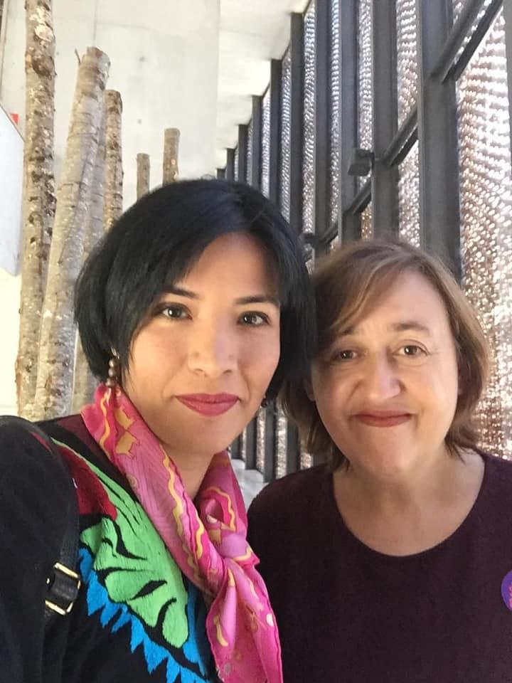 Amaranta Osorio (izquierda) e Itziar Pascual Ortiz (derecha)